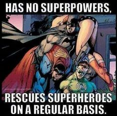 Batman don't need superpowers to be a real hero. So be the batman. Comic Book Characters, Comic Book Heroes, Comic Character, Comic Books Art, Comic Art, Nightwing, Batgirl, Marvel Girls, Batman Y Superman