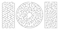 Felt kids mazes Create, download and print random mazes in varying styles and sizes.