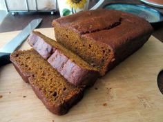 Ellen in the Kitchen's Ginger Pumpkin Puddin' Bread