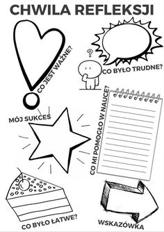 OK Zeszyt - przydatne strony i materiały Back To School Life Hacks, Diy Back To School, Art School, Visual Note Taking, Sketch Notes, Binder Covers, Worksheets For Kids, Book Of Life, Toddler Activities