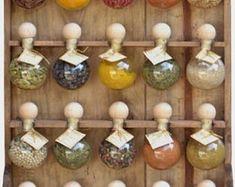 Oak Shelves, Hanging Shelves, Suspended Shelves, Rustic Wall Sconces, Rustic Walls, Cream Horn Molds, Wood Spice Rack, Spice Racks, Sunflower Design