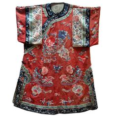 Antique Chinese Women's Robe 19th Century