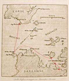 La rotta Arcipelago LaMaddalena Sardegna