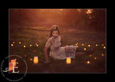 Enchanted Seniors | Candles  Senior picture idea