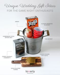 Wedding Registry Hack for the Game Night Enthusiasts
