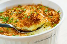 Mashed Potato Casserole side dish
