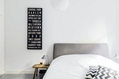 foorni.pl | Mieszkanie w Amsterdamie, skandynawska sypialnia
