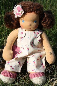 Darling Anita Waldorf inspired doll 15 by Faridulka on Etsy, $230.00