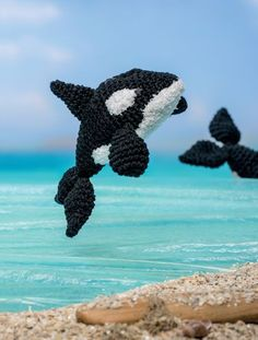Bathtime Buddies  20 Crocheted Animals from the Sea Killer Whale