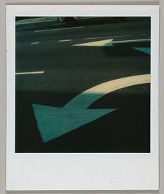 Walker Evans, Street Arrows, 1973,  photograph, The Metropolitan Museum of Art