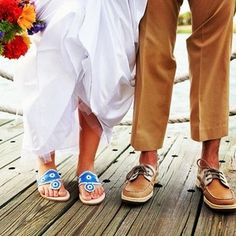 "Perfect ""Something blue""   I cannot wait to have my southern/preppy wedding"