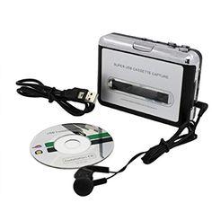USB Audio & Video Accessories Cassette To MP3 Converter Capture Portable Player (eBay Link)