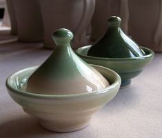 Salt Cellars, green flow, and green tea