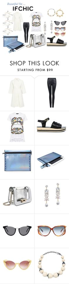 """""""IFCHIC MAY"""" by michelle858 ❤ liked on Polyvore featuring Paul & Joe Sister, Citizens of Humanity, Markus Lupfer, Ancient Greek Sandals, Mohzy, Eugenia Kim, Preen and Joomi Lim"""