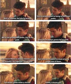 """The Amazing Spider-Man 2. who else is bawling? """"and you're always gonna be my path"""" oh god"""