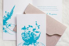 Save the dates by Atelier Invitations - Chic & Stylish Weddings