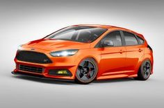 Modified Ford Focus ST and Fiesta ST Hot Hatches Head to SEMA. Ford brings the heat to SEMA.