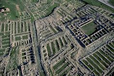 Aerial view of Hattusa. Capital of the Hittite Empire in the late bronze age. Founded in the 6th millennium BC and abandoned about 1200 BC
