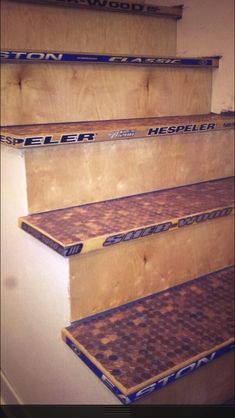 Future basement/man cave stairs!