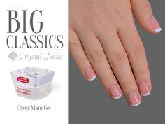 #manicure #mani #crystalnails #nails #gelnails #crystalnails #pink
