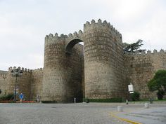 Fortress Walls at Avila, Spain -  by Harry Wagner