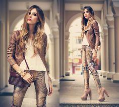 Labellamafia Legging, Boda Skins Jacket