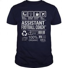 Awesome Tee For Assistant Football Coach - #style #sweaters. ORDER HERE => https://www.sunfrog.com/LifeStyle/Awesome-Tee-For-Assistant-Football-Coach-102871600-Navy-Blue-Guys.html?60505