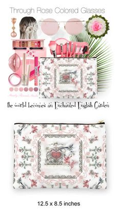 """""""Enchanted English Garden"""" by debschlier ❤ liked on Polyvore featuring beauty, Deborah Rhodes, LE VIAN, Kevyn Aucoin, Etude House, Lime Crime, Gucci, Deborah Lippmann, LMNT and beauty products"""