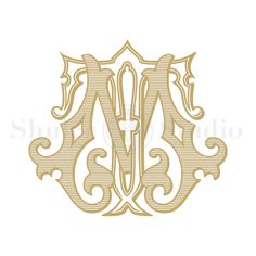 Custom Vintage Monogram MT TM Vintage Monogram by ShulerStudio Wedding Logos, Monogram Wedding, Monogram Design, Monogram Fonts, Tm Logo, Old English Letters, Embroidery Monogram, Vintage Monogram, Calligraphy Letters