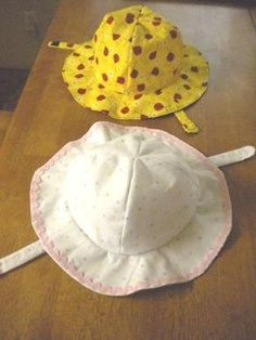 Free Sun Hat Pattern--She will need one very soon!