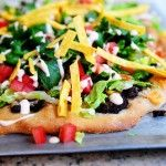 Pioneer Woman taco pizza