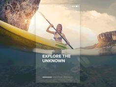 Mobile app Onboarding designed by Antun Debak. Text Overlay, Mobile App Design, Postmodernism, Mobile Application, Animation, Explore, Post Modern, Image, Inspirational