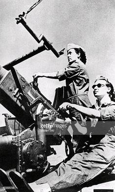 Turkish Woman Soldiers. Ankara , 1948.