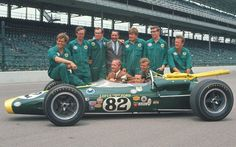 Jim Clark, Lotus Ford. Winner Indy 1965.  I got to see this one... cool.