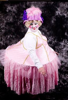 Miss Humpty Dumpty, There is a hoola hoop sewed into the costume