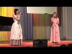 Дурманом сладким веяло, когда цвели сады - вокальный дуэт: Светлана Разенкова и Лина Шнуренко - YouTube