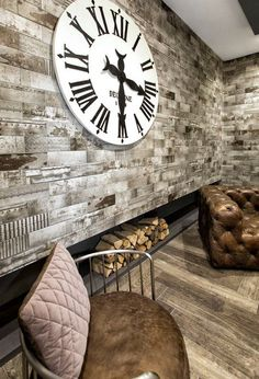 Ceramic wall tiles made in Italy Ale, Ceramic Wall Tiles, Porcelain Tiles, Style Tile, Clock, Home Decor, Kitchen, Products, Tiles