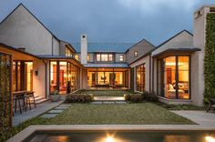 I want this u shaped house