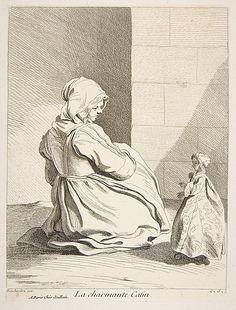 The Charming Doll Anne Claude Philippe de Tubières, Comte de Caylus (French, 1692–1765) Date: 1742