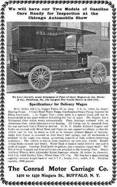 1903 Conrad Automobile Advertisement