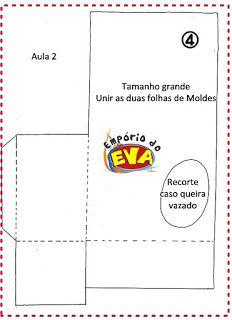 Caixinha Páscoa EVA - Empório do EVA