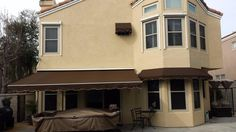 32 Best Fixed Awnings images | Outdoor decor, House styles ...