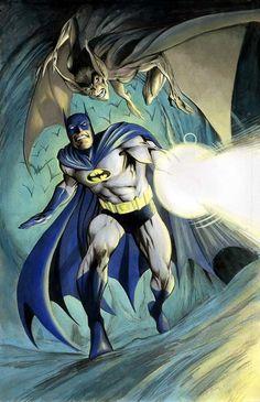 Batman .vs. Man-Bat!