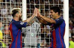 Messi anota triplete en la goleada de 7-0 del Barcelona sobre el Celtic en la…