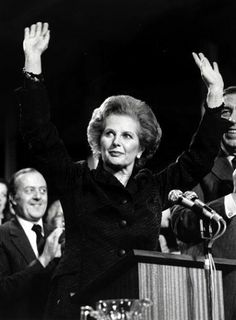 Mrs Thatcher at the 1981 Tory Conference