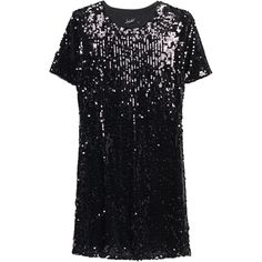 JADICTED Sequins Black // Sequined mini dress ($205) ❤ liked on Polyvore featuring dresses, sequins, short mini dress, fitted cocktail dresses, short-sleeve dresses, short dresses and short fitted dresses