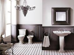 Boiserie Bagno Moderno : Fantastiche immagini su bagno designer wallpaper bathroom e