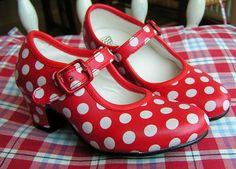 Girl's Sevillana Flamenco Shoes | Spanish Shoes | Spanish Crafts - SPANISH SHOP ONLINE | Spain @ your fingertips (€24.00) - Svpply