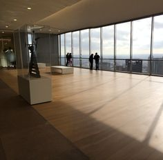 JP Morgan Chase Tower sky lobby observation deck. #houston #downtown #view
