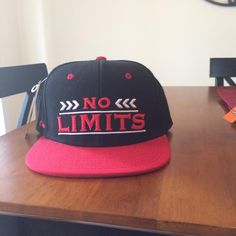 Release Your Beast No Limits Snapback- Red/black